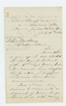 1862-07-11 Lieutenant Adelbert Ames requests a regimental command by Adelbert Ames