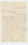 1862-07-13  Richard Tinker of Thomaston recommends Hezekiah Long for recruiting officer