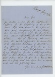 1862-07-14 Charles E. Dole recommends Reverend French for chaplain by Charles E. Dole
