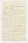 1862-07-14  H.C. Merriam expresses concern about men crossing to Canada to avoid service