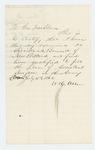 1862-07-15  W.H. Allen, Jr.  recommends Dr. S.A. Bennett for a position as assistant surgeon