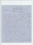 1862-07-15  P. Fogler of South Hope solicits a commission as captain