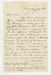1862-07-16  Timothy F. Andrews requests a commission