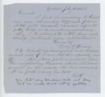 1862-07-18  Henry C. Merriam requests to settle bills for boarding recruits
