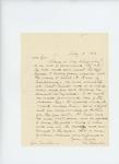 1862-07-19  Hannibal Hamlin recommends Major Chapman or Lieutenant Adelbert Ames as regimental commanders