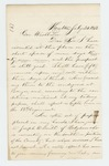 1862-07-24  Henry C. Merriam reports he has recruited 37 men and awaits his promised position as Captain