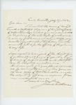 1862-07-27  Jarred Fuller recommends Luther B. French for appointment as chaplain