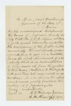 1862-07-28  H.W. Partridge and S.M. Kennedy of Jefferson recommend J. A. Hofses for Lieutenant