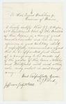 1862-07-28  S. J. Bond of Jefferson recommends J.J.A. Hofses for Lieutenant