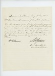 1862-07-30  S.R. Jackson and others recommend William Morrell for lieutenant