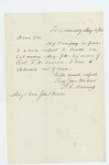 1862-08-04  T.F. Andrews writes that his company is full and will report to Bath August 9