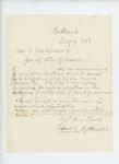 1862-08-04  Samuel Fessenden recommends Lieutenant Adelbert Ames for promotion to Colonel