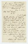 1862-08-08  Alpheus Packard Jr. applies for position as hospital steward