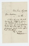 1862-08-13  H. Richson of Old Town recommends W.C. Brierly for lieutenant