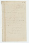1862-08-14  T.F. Andrews requests railroad passes to move men into camp