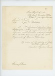1862-08-14  Special Order 190 giving Adelbert Ames leave of absence to take command of 20th Maine Regiment