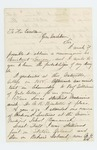 1862-08-19  George G. Percival requests position as Assistant Surgeon