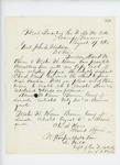 1862-08-19  Captain Hill reports arrival of Daniel W. Keene and Weston H. Keene for muster
