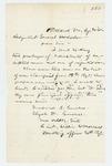 1862-08-20  Lieutenant William W. Morrell writes General Hodsdon regarding enlistments and rejected men
