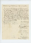 1862-08-23  Reuel Washburn and other of Livermore request appointment of Albert C. Pray as lieutenant