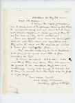1862-08-23  William Morrell, Mustering Officer, writes Adjutant General Hodsdon regarding descriptive lists