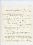 1862-08-28  William W. Morrell forwards more enlistments to Adjutant General Hodsdon