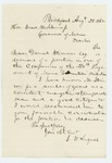 1862-08-28  Daniel Stinson is recommended for a position