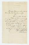 1862-08-28  Nahum A. Hersom authorizes Councilor Frost to act for him regarding his commission