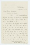 1862-08-28  Mr. Haines and John Goodwin recommend Daniel Stinson for lieutenant