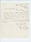 1862-08-29  Major Charles Gilmore recommends Sergeant George Buker of the 7th Regiment for position as lieutenant