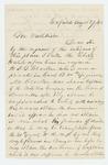 1862-08-29  J.L. Smith recommends S.G. Crocker for position as captain