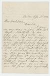 1862-09-23  Nahum P. Monroe writes regarding joining his regiment