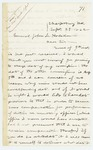 1862-09-29  William Morrell inquires about the date of his commission