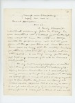 1862-09-30  William Morrell sends enlistment papers of John M. Libby