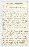 1862-10-10  Lewis B. Smith, chairman of the Overseers of the Poor, requests assistance for Charles Willson