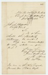 1862-10-10  Colonel Adelbert Ames requests clarification on where to send quarterly returns