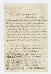 1862-10-14  Captain I.W. Haskell and others of Company D recommend promotion of Joseph Walker, Jr.