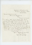 1862-10-19  Colonel Adelbert Ames recommends Sergeant Henry F. Sidlinger for promotion to 2nd Lieutenant