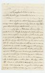 1862-10-25  P. Simonton writes Governor Washburn regarding the promotion of his son Edward Simonton