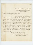 1862-10-26  John Marshall Brown acknowledges receipt of forms for monthly returns
