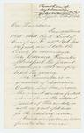 1862-11-25  Judge Jonathan Dickerson writes Governor Washburn recommending promotion of Edward Simonton