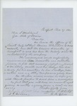 1862-11-27  James P. White and others recommend Sergeant Edward Simonton for promotion to 2nd Lieutenant