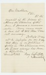 1862-12-15  Isaac Reed recommends James H. Stanwood for promotion