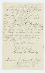 1862-12-17  Gowen W. Fowles requests a descriptive list for himself and Bela L. Fowles be sent to convalescent camp