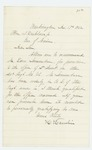 1862-12-17  Hannibal Hamlin recommends Edward Simonton for promotion to 2nd Lieutenant