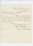1862-12-28  Colonel Adelbert Ames encloses list of casualties at Fredericksburg