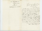 1863-01-05  Lee Strickland requests commission for son Charles from Governor Washburn