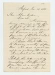 1863-01-19  J.H. Goodenow recommends Lieutenant Stinson for promotion