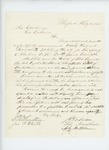 1863-02-08  P.R. Hazeltine and others recommend Orderly Sergeant Russel H. White for promotion to 2nd Lieutenant
