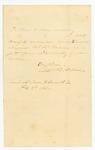 1863-02-08  Ellis Spear recommends Sergeant Warren Kendall for promotion